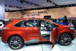 ford, edge, new york auto show