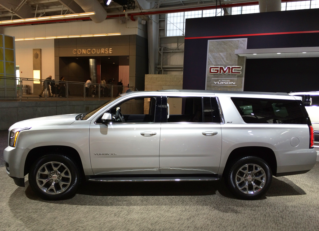 2015, gmc, yukon, new york auto show