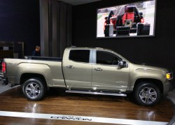 2015, gmc, canyon, new york auto show