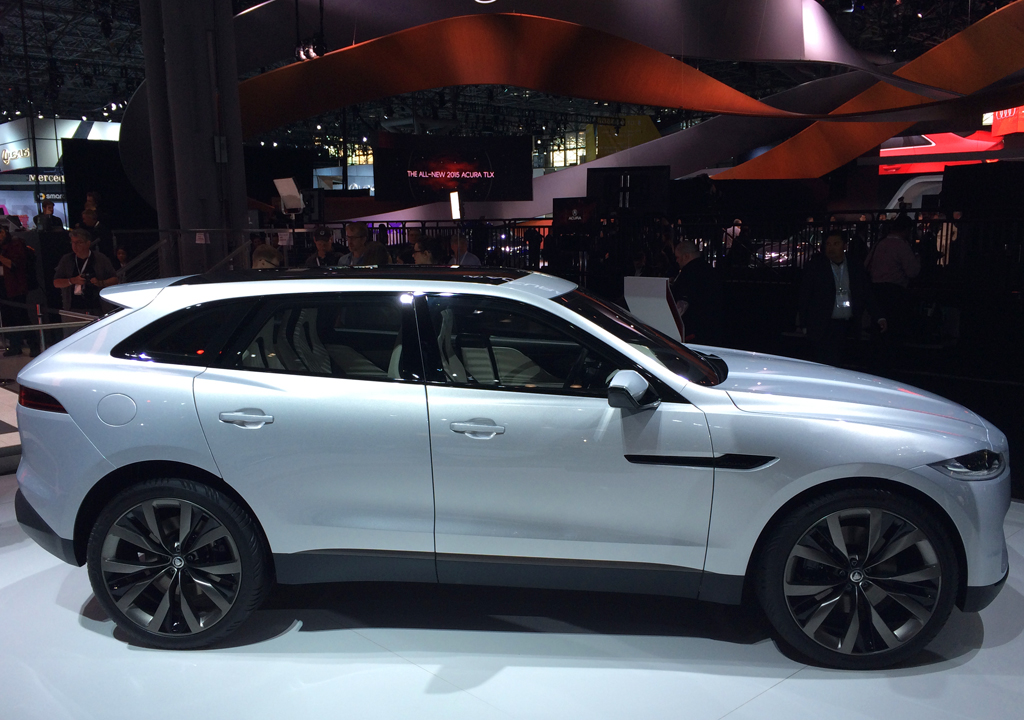 jaguar, suv, new york auto show