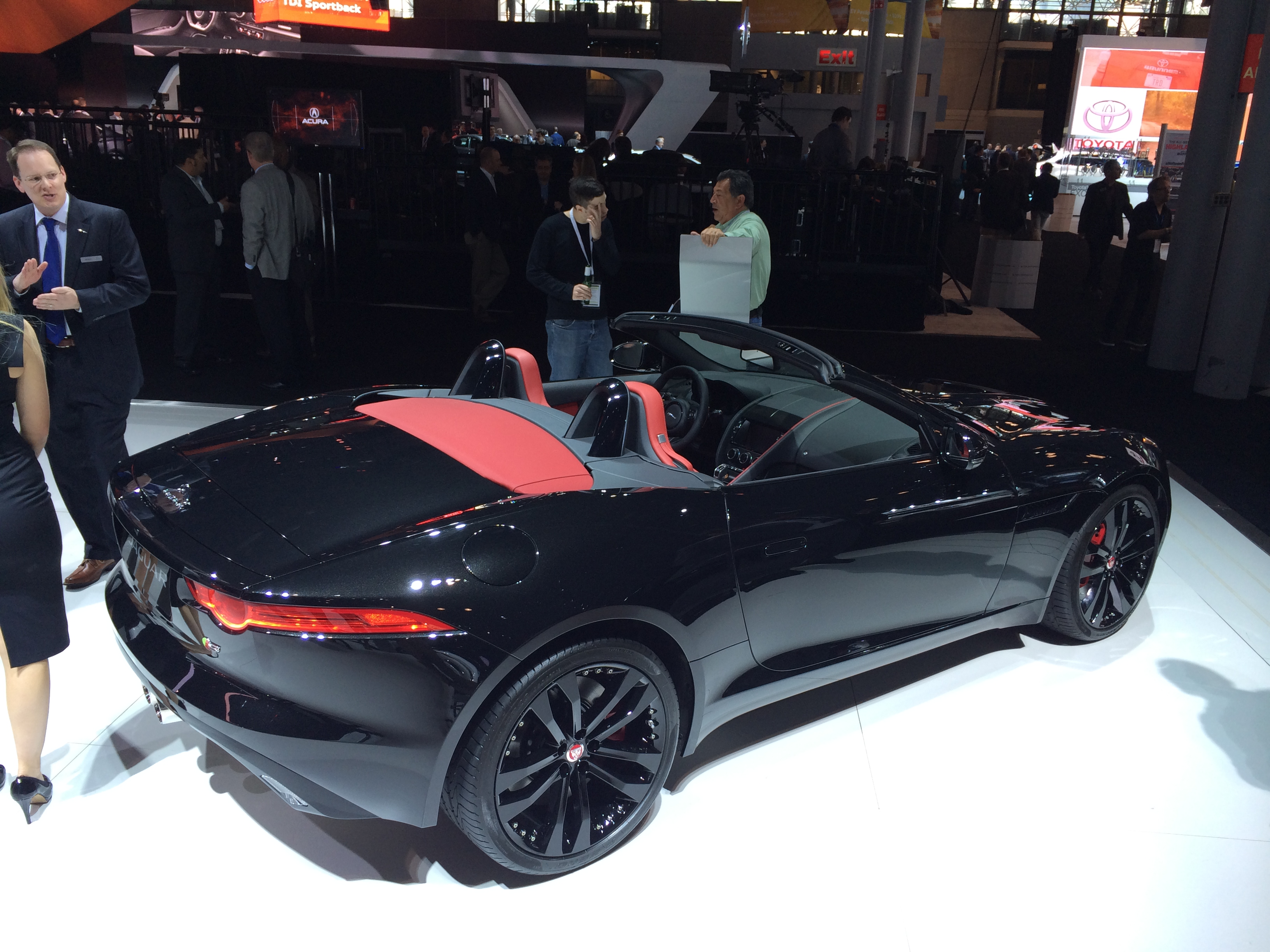 2014, jaguar, f-type, new york auto show