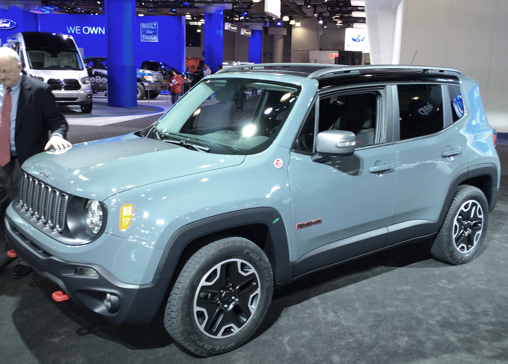 2015, jeep, renegade, new york auto show