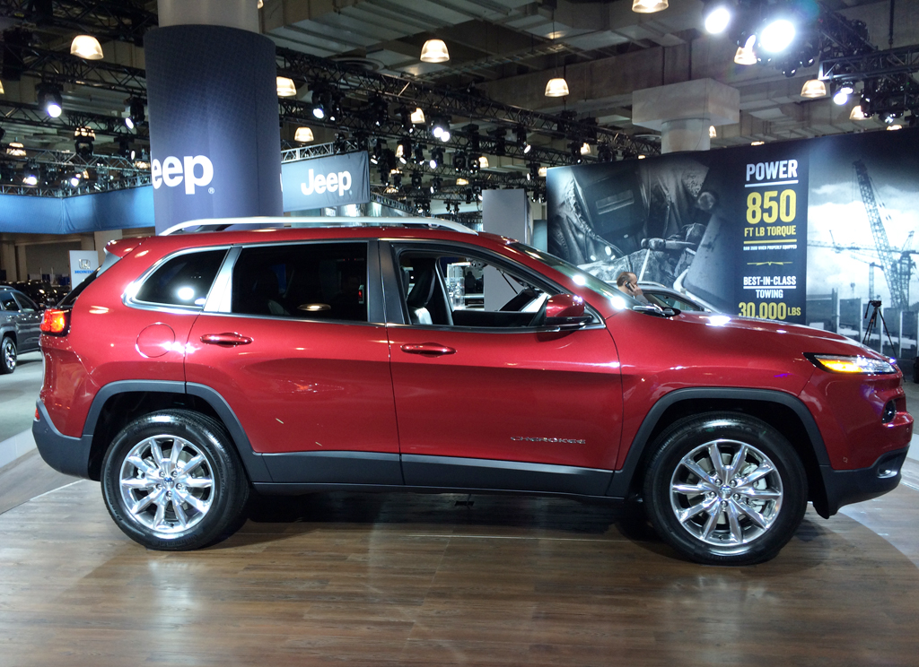 2014, jeep, cherokee, new york auto show