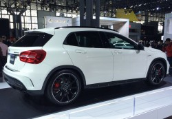 2014, mercedes, gla, new york auto show
