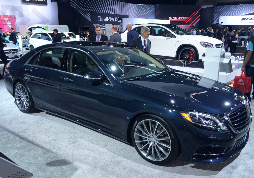 2014, mercedes, s-class, new york auto show