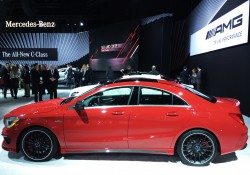 2014, mercedes, cla, new york auto show
