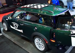 2014, mini, clubman, new york auto show