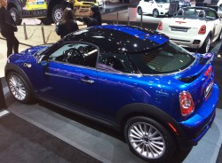 2014, mini, coupe, new york auto show