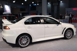 2014, mitsubishi, lancer, new york auto show