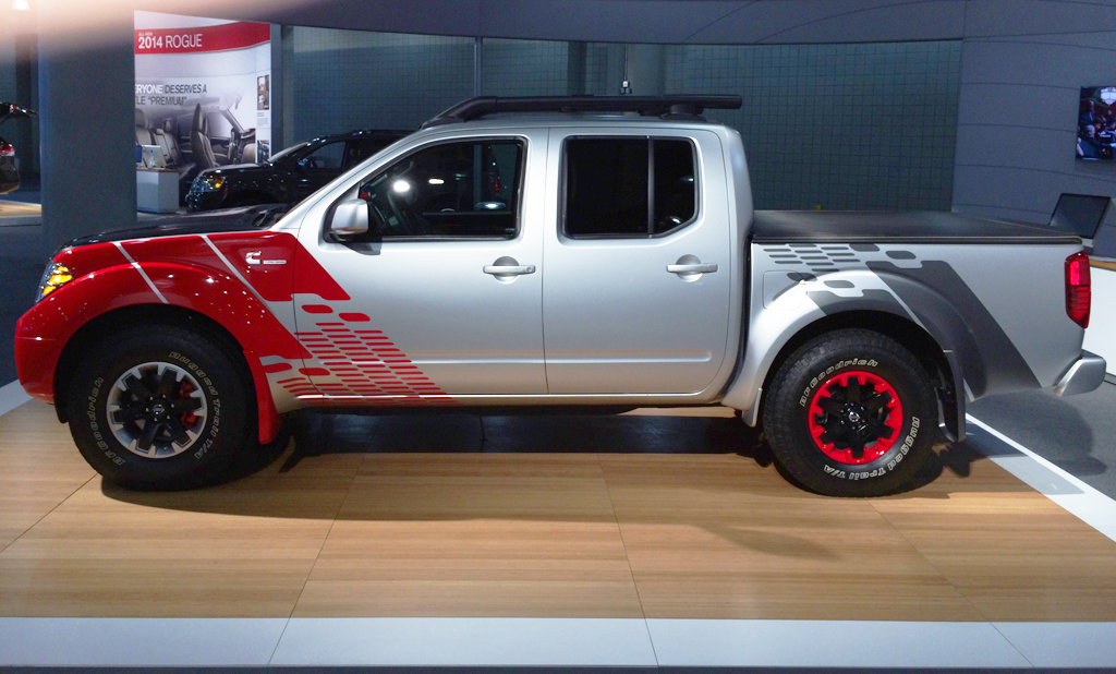 2014, nissan, frontier, new york auto show