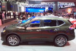 2014, nissan, rogue, new york auto show