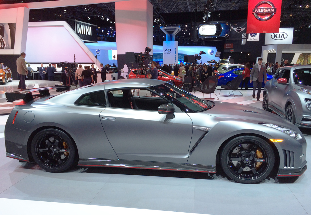 2014, nissan, skyline, gt-r, new york auto show
