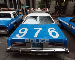 1976, pontiac, catalina, new york city, police car