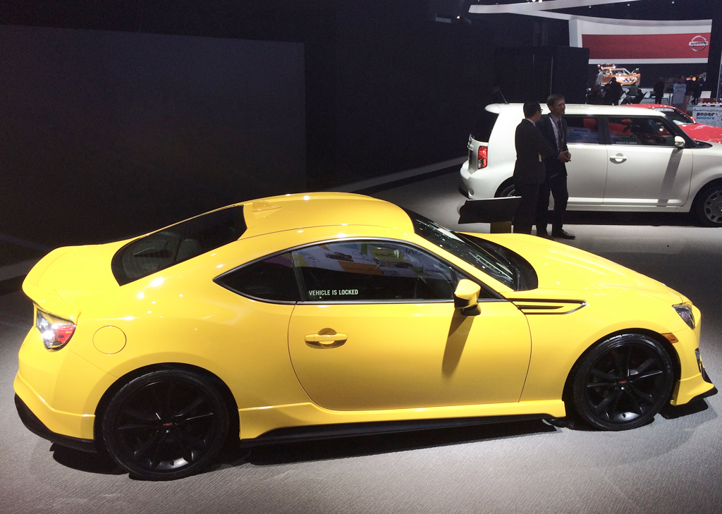2015 scion fr s release series at the 2014 new york auto show classic cars today online. Black Bedroom Furniture Sets. Home Design Ideas