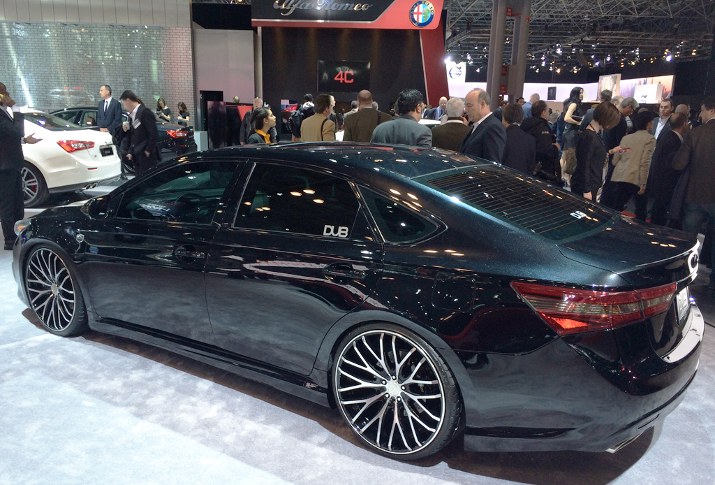 2014, toyota, avalon, dub, new york auto show