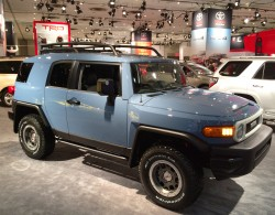 2014, toyota, fj cruiser, new york auto show