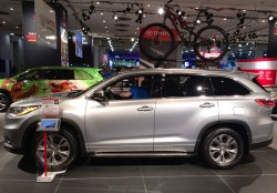 2014, toyota, highlander, new york auto show