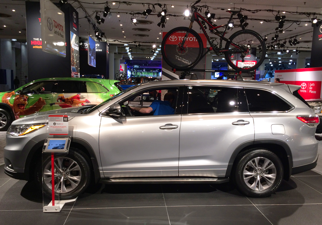 2014 toyota highlander at the 2014 new york auto show classic cars