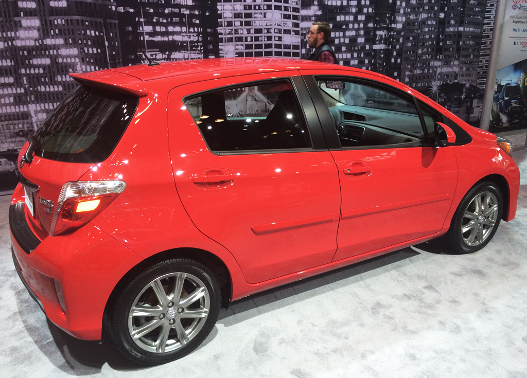 2014, toyota, yaris, new york auto show