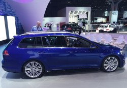 2015, volkswagen, golf, wagon, new york auto show