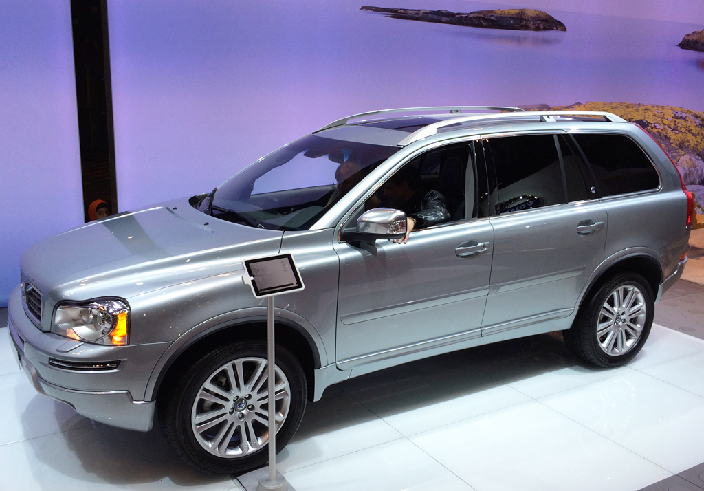 New Volvo Xc90 >> 2014 Volvo XC90 at the 2014 New York Auto Show | CLASSIC ...