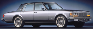 The success of Cadillac's Seville convinced Imperial product planners that the way of the future for luxury cars was trimmer size.