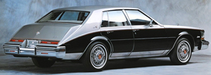 Somehow, Cadillac had the same styling idea for the trunk of its 1980 Seville as Imperial designers did.  Both designs were locked in at the same time, and both companies claimed to be inspired by older Rolls-Royce models.
