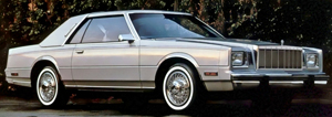 The Chrysler Imperial was based on the 1980-83 Cordoba platform.  Smaller than a Chevrolet Caprice but larger than an Olds Cutlass Supreme, the size seemed just the right one.