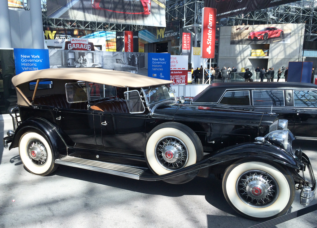 1932 Packard, franklin roosevelt, 2014, new york auto show