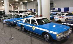 new york auto show, police cars, 2014, display