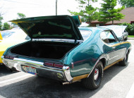 1968, oldsmobile, cutlass, 442, 4-4-2