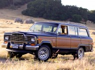 1979 Jeep Wagoneer Limited.  All Wagoneer and Cherokee models received a substantial styling update with square headlights and a new grille which emphasized horizontal slats.