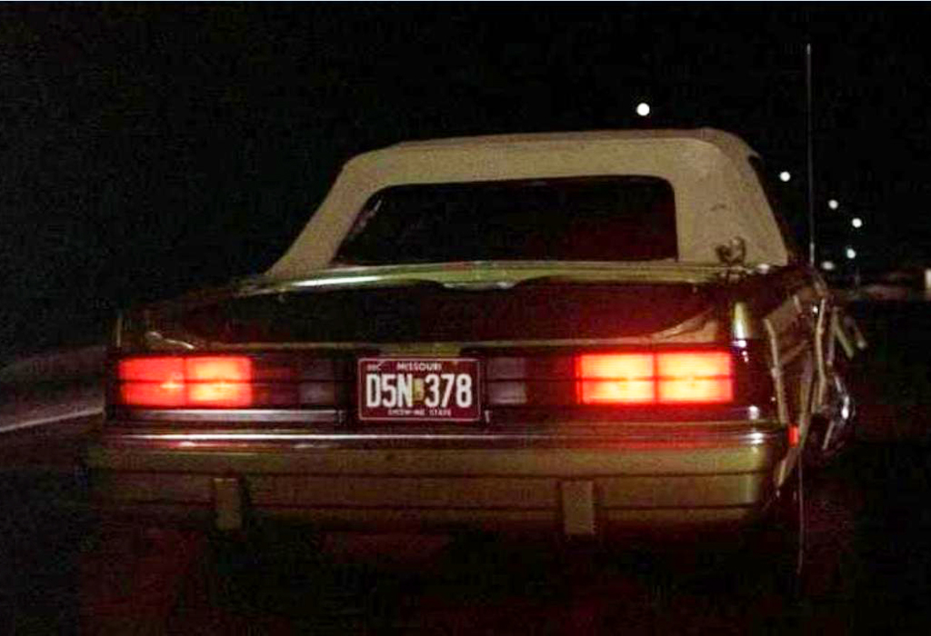 A close observer will notice in some scenes, the movie convertible has rear taillights from an '86 Dodge 600 rather than a LeBaron.