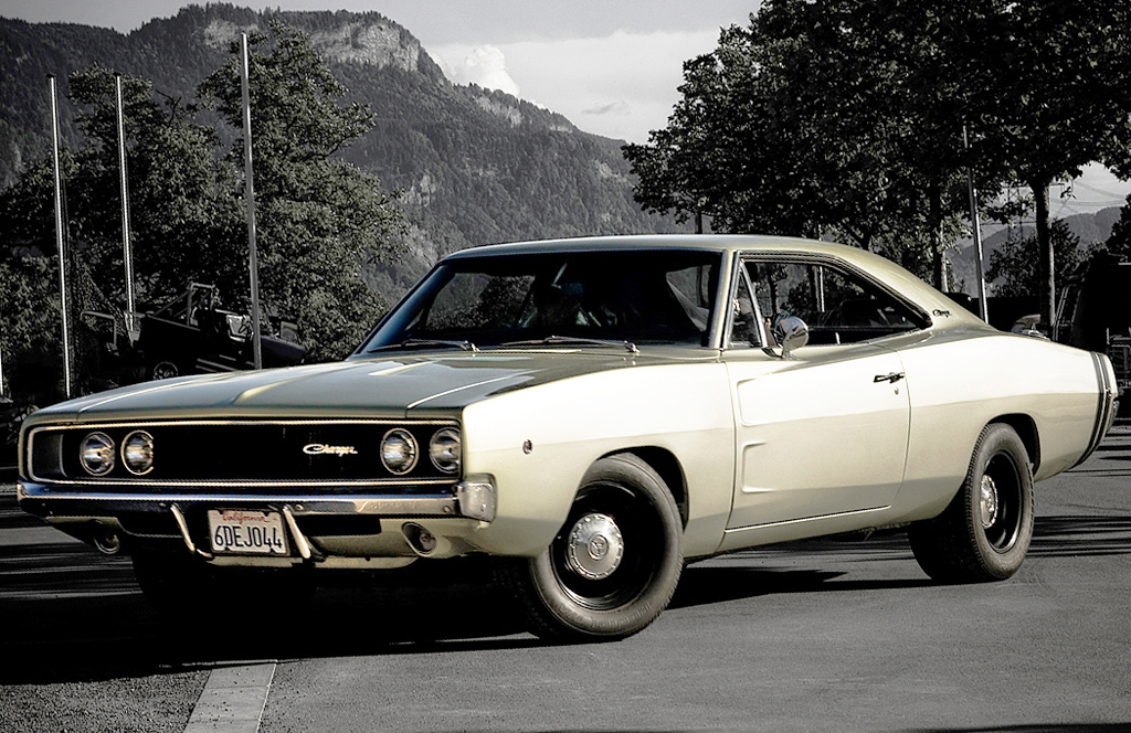 1968, dodge, charger, 500