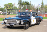 1962, dodge, dart, police car