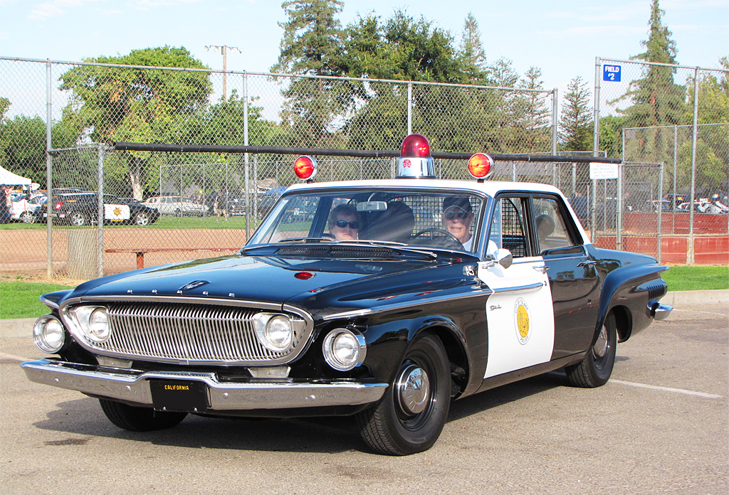 1962 dodge dart police car classic cars today online. Black Bedroom Furniture Sets. Home Design Ideas