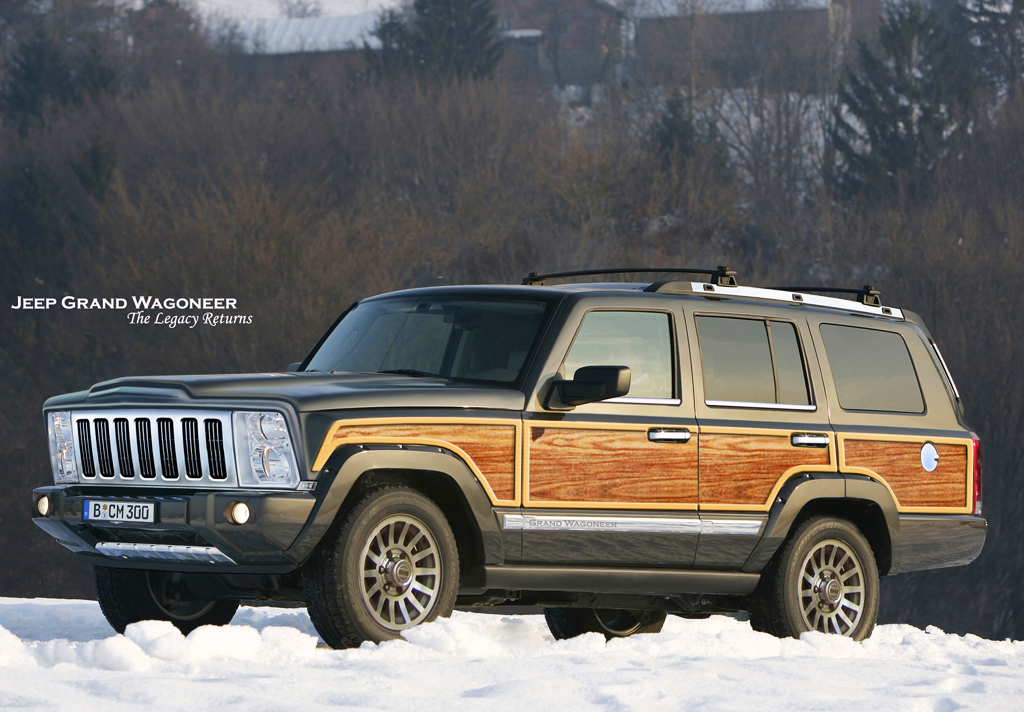 2018 jeep grand wagoneer car tuning. Cars Review. Best American Auto & Cars Review