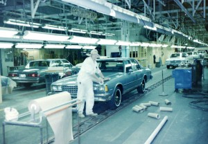 Classic Chevrolet Beaumont >> 1983 Chevrolet Caprice assembly line in Oshawa Canada ...