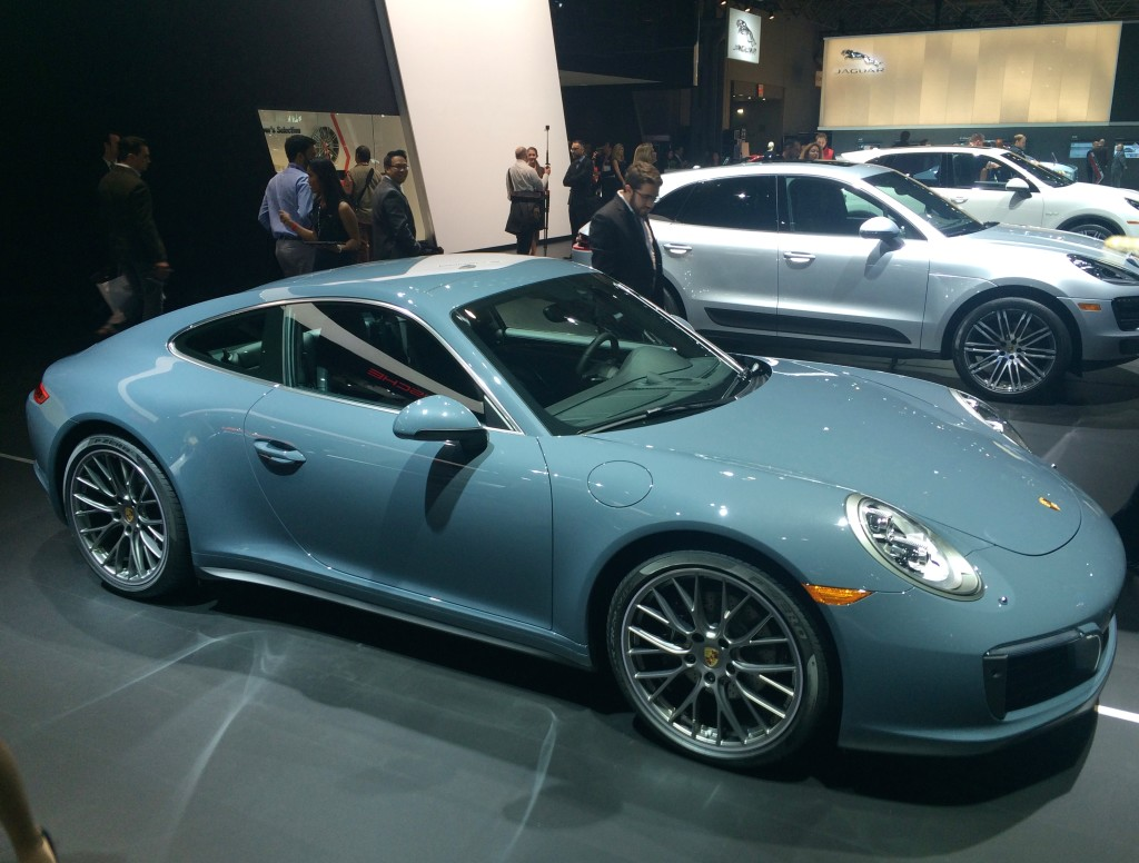 2017, porsche, 911, turbo, ny, new york, auto show, 2016