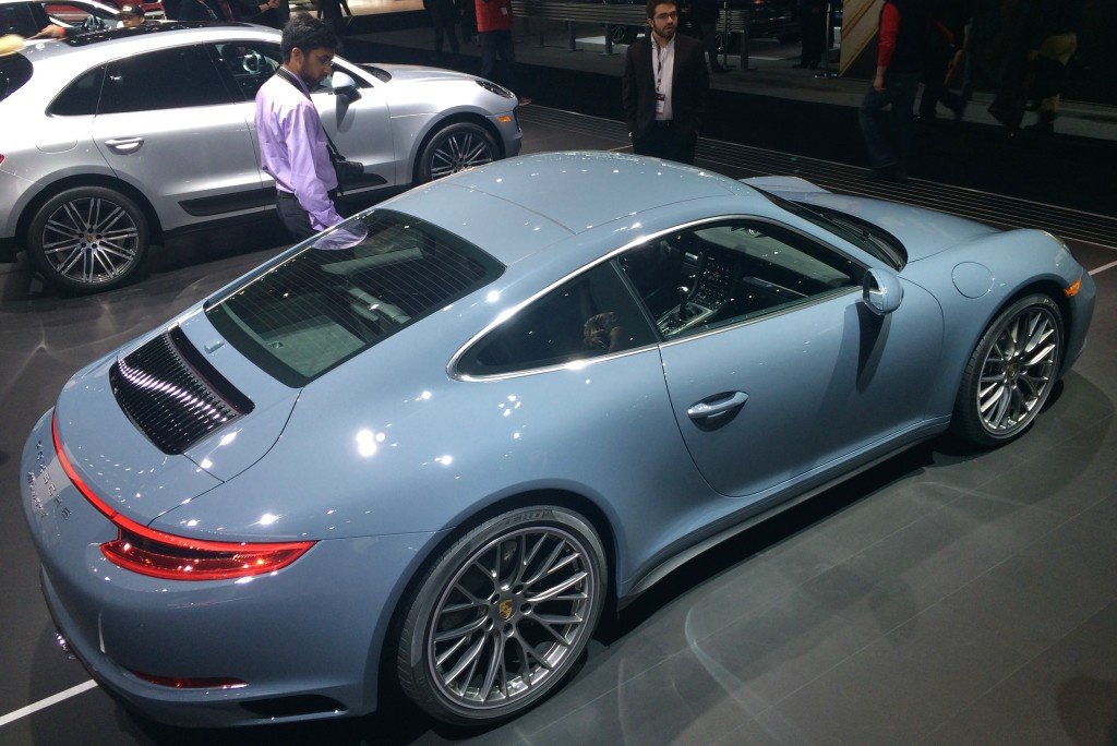 2017 PORSCHE 911 TURBO -  The new Turbo model makes 540 horsepower in standard Turbo form, or 580 hp in Turbo S form
