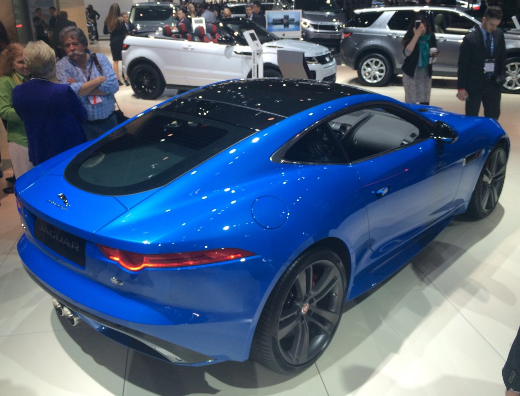 2016, ny, new york, auto show, jaguar, f type, f-type
