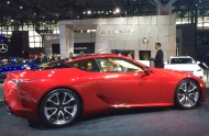 2016, ny, new york, auto show, lexus, coupe, lc500