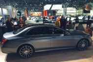 new york, ny, auto show, 2017, mercedes, e-class, premiere, debut