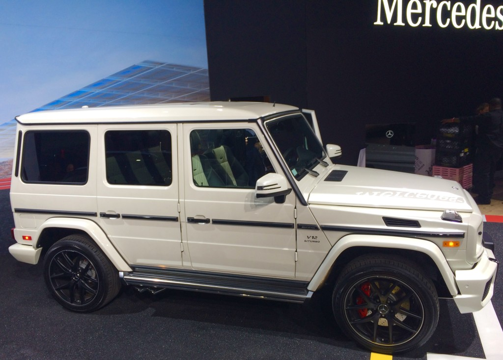 2016, mercedes, g65, amg, ny, new york, auto show