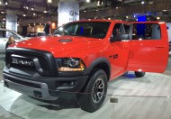 2016 DODGE RAM pickup.  The grille looks like it's already fitted with an aftermarket bull bar.