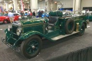 2016, ny, new york, auto show, 1930, mack, fire truck