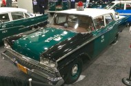 2016, ny, new york, city, auto show, 1959 ford, police car