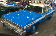 2016, ny, new york, auto show, 1974, plymouth, police car