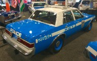 ny, new york, auto show, 1988, dodge diplomat, police car