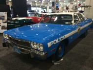 2016, ny, new york, auto show, 1973, plymouth, police car
